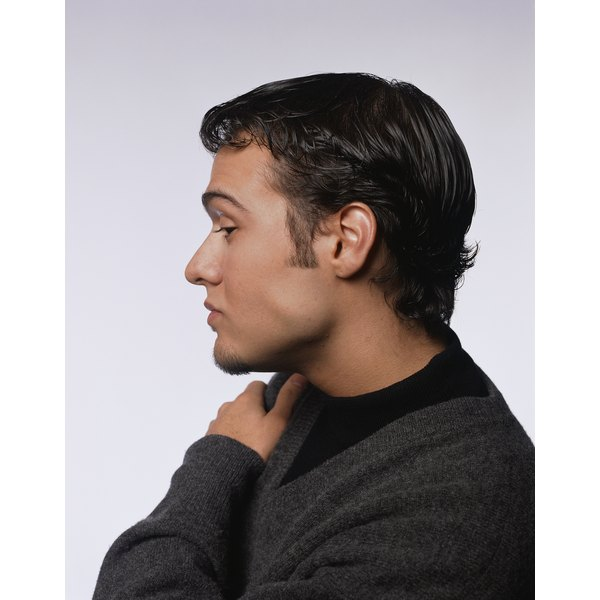 Well cared-for sideburns enhance a man's look.