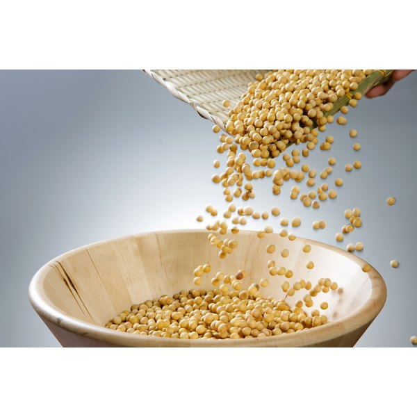Soy nuts are made by roasting soybeans.