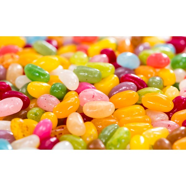 A close-up of jelly beans.