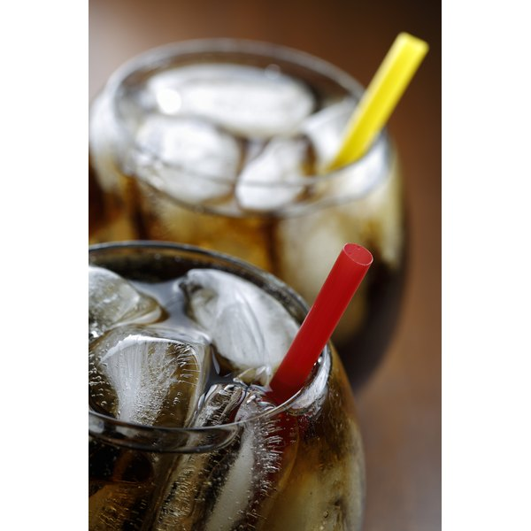 Caffeine is commonly used in sodas.