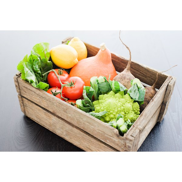 Fruits and vegetables fill you up without increasing your waist size.