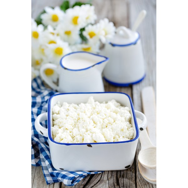 Cottage cheese has vitamin B12.