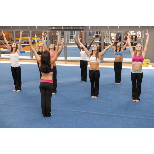 Gymnastics strengthens your muscles and helps build balance and flexibility.