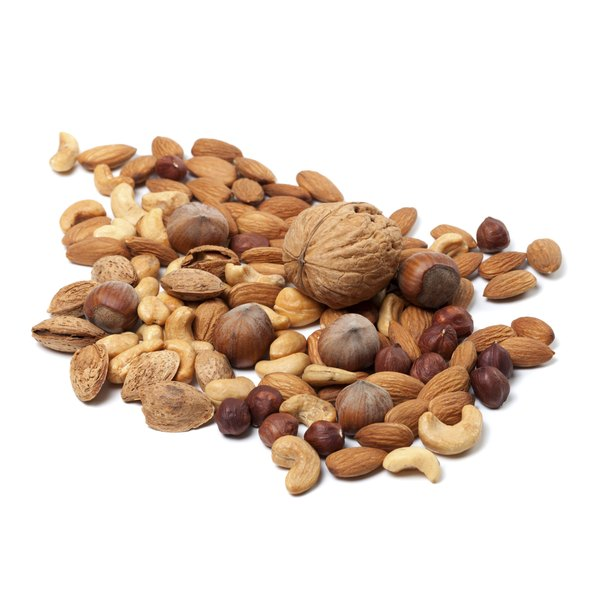 Nuts are high in lysine.