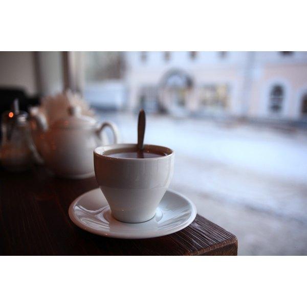 Caffeine Content In Tea Vs. Coffee