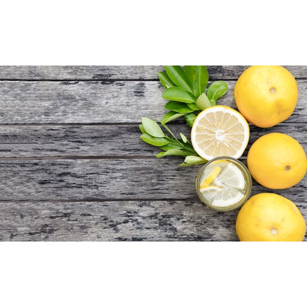 Lemon juice mixed with water is used for detoxifiation.