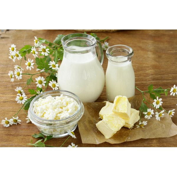 Milk and cheese are good sources of vitamin B6.