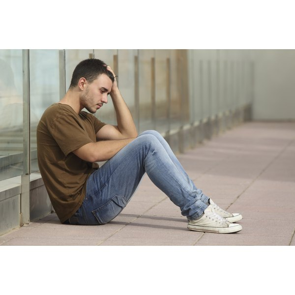 Illness, bereavement and hormonal changes can also set off depression.
