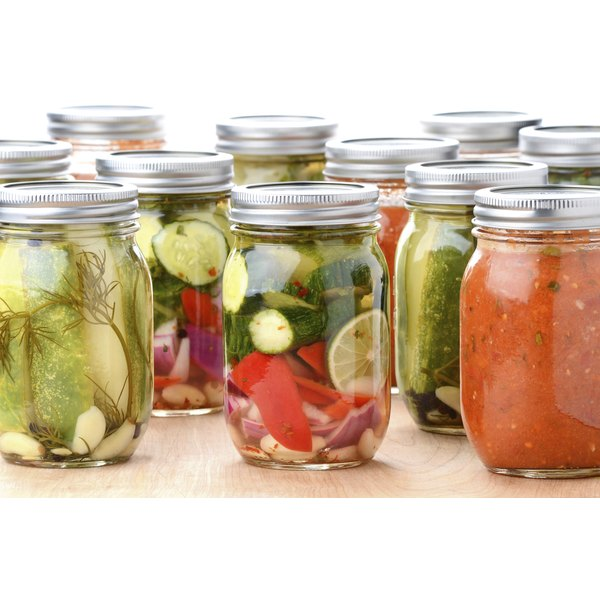 Canned vegetables.