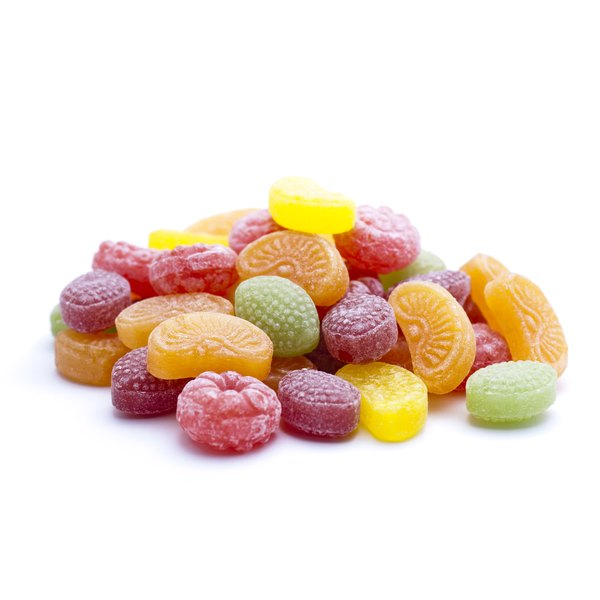 Candy and sweets often have additives.