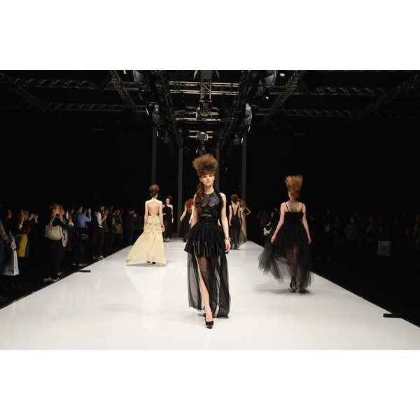 Models must fit specific criteria to be hired for runway jobs.