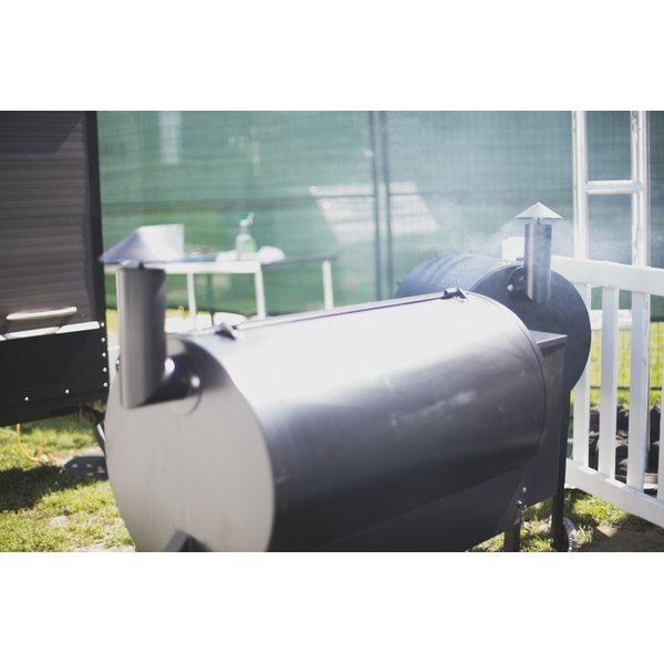 Cooking potatoes in a smoker uses indirect heat.