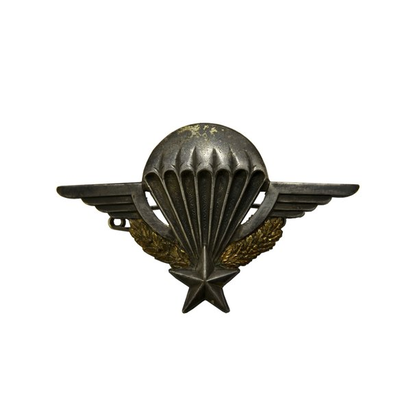The French Army Parachutist Badge is one of the authorized foreign jump badges.
