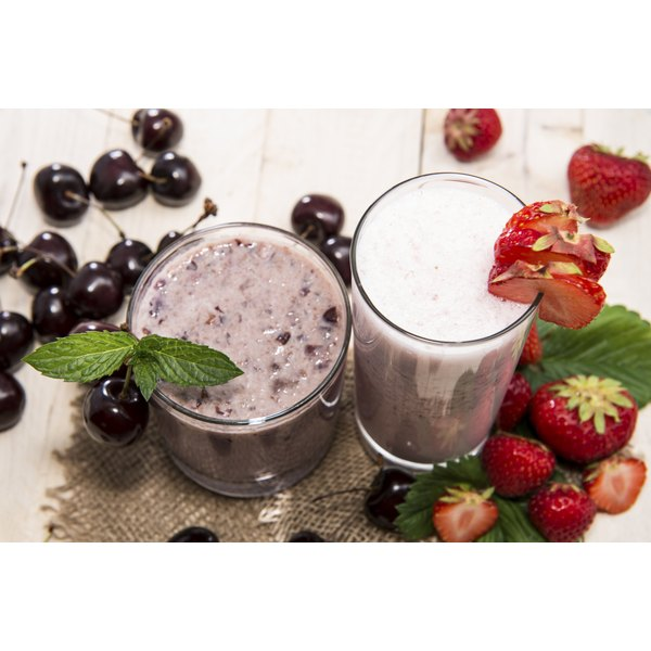 Fresh or frozen, fruit lends itself to a myriad of shake combinations.