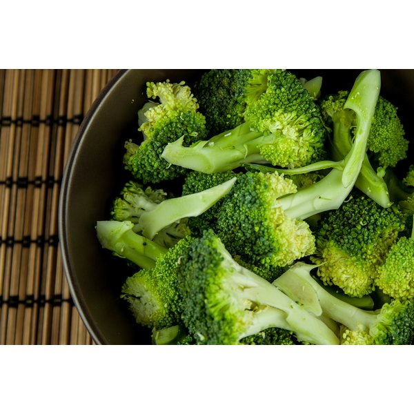 Steamed broccoli is offered as a side dish option for all entrees at Bennigan's.