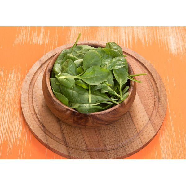 Spinach is a rich source of sodium nitrite.