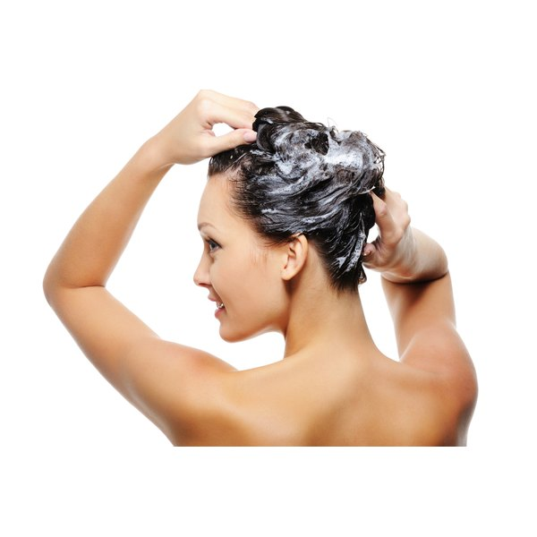 Tea tree oil shampoo can help soothe an itchy scalp.