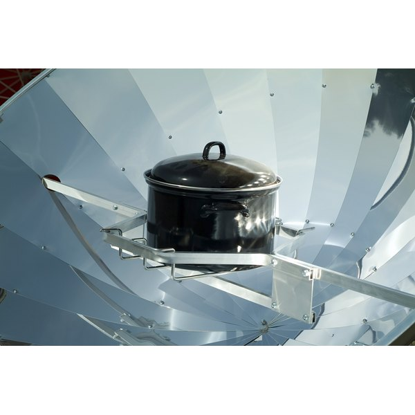 A large solar cooker.