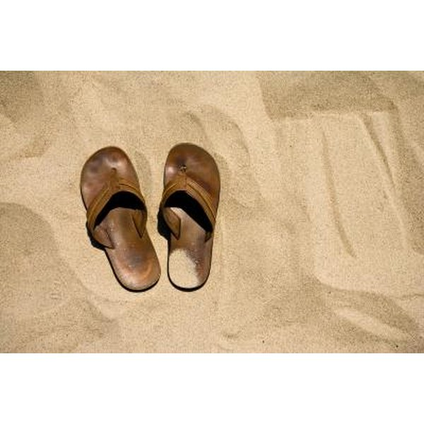 How to Deodorize Suede Sandal Footbeds