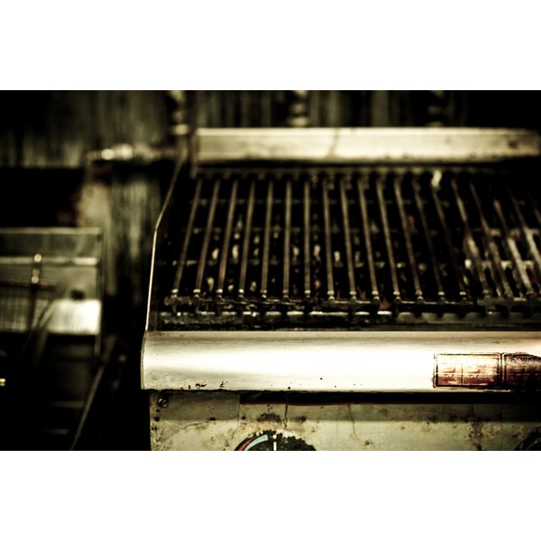 The best way to stop food from sticking to your grill is to oil it down before cooking.