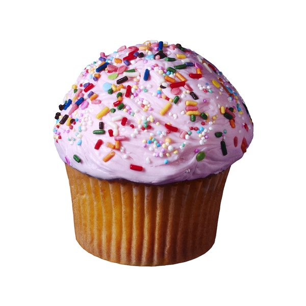 Sweets such as cupcakes are common foods containing simple carbohydrates.