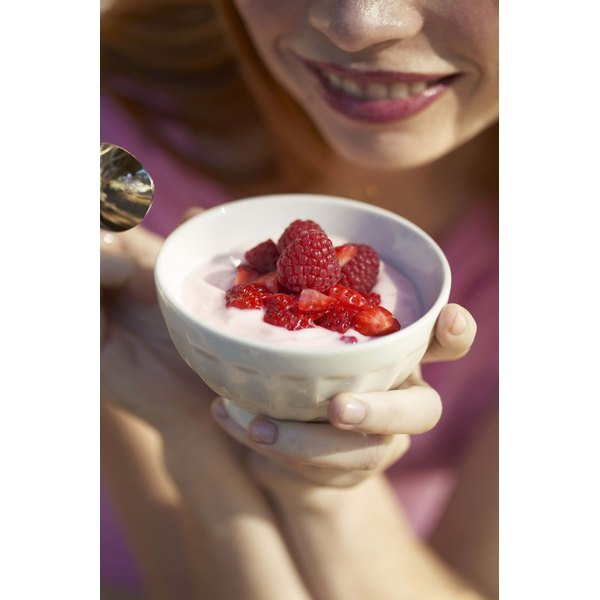 Yogurt is one of the foods often enriched with probiotics.