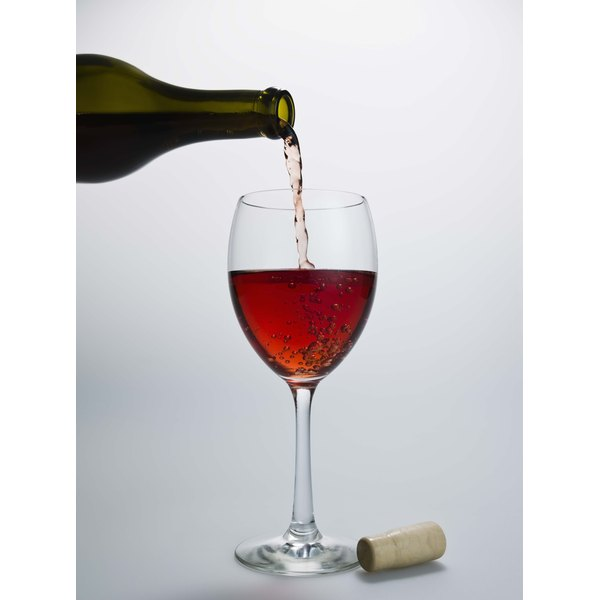Aged wines contain more sediment than younger vintages.
