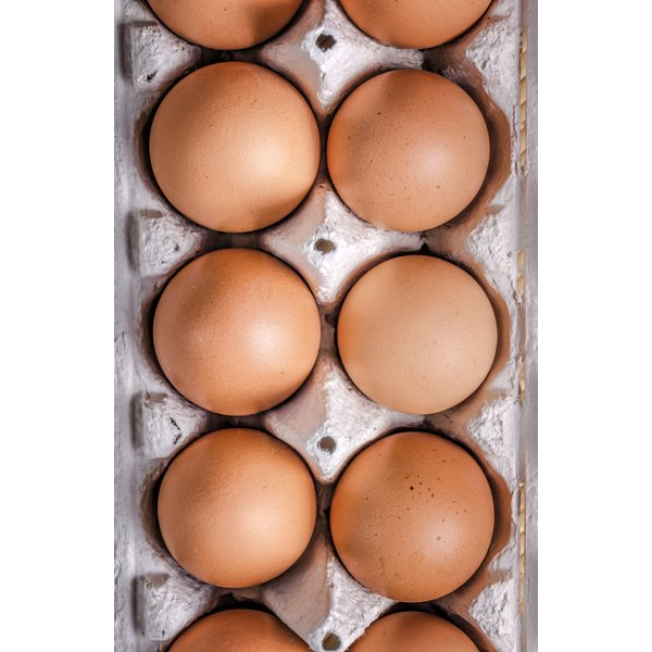 One large egg white contains almost 4 g of protein.