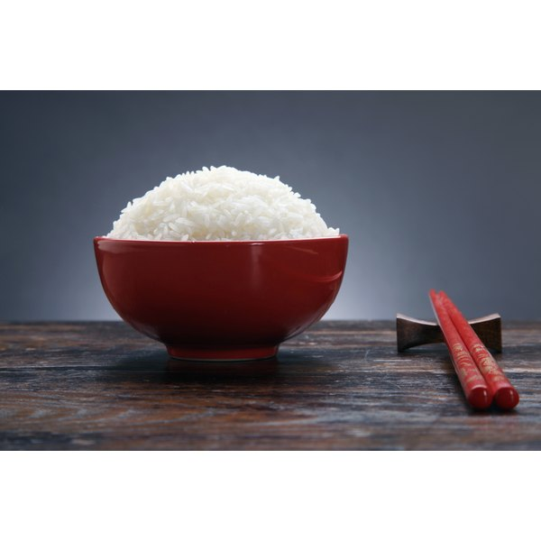 Avoid white rice while on the SureSlim Diet.