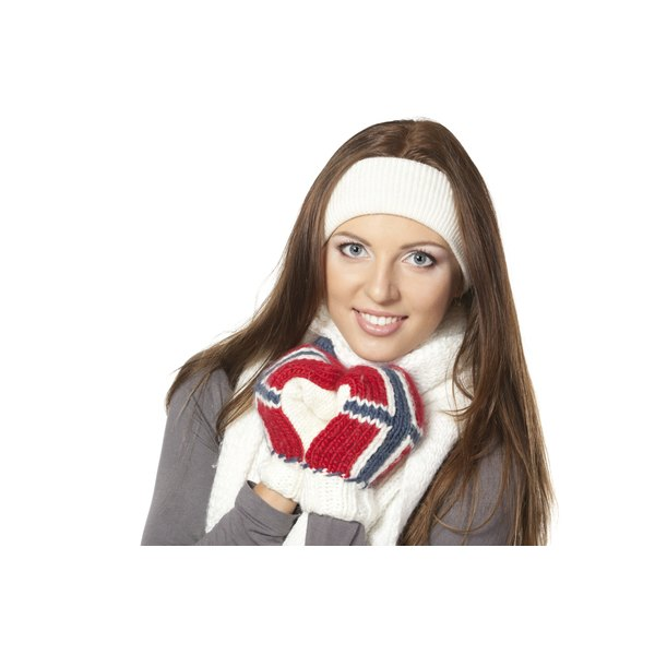 Keep warm without sacrificing your personal style with a headband.