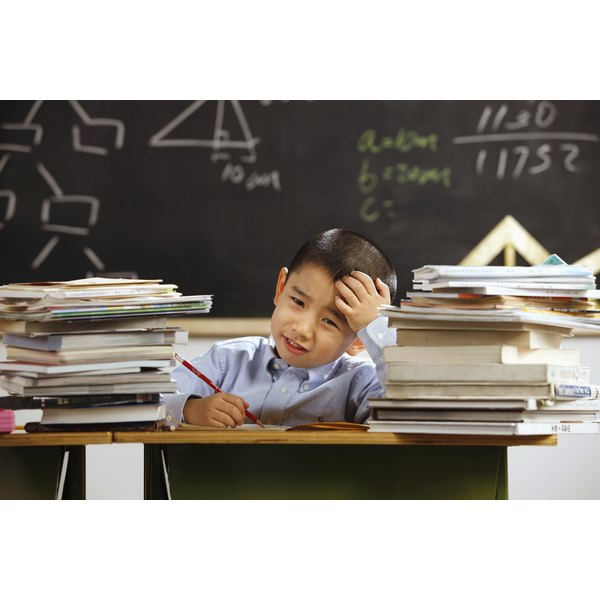 Help child focus on homework