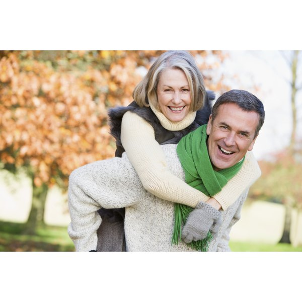 Even happily married senior couples can begin to see problems with environmental and physical changes.