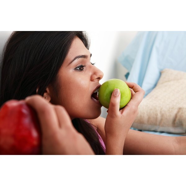 Apples can cause oral allergy syndrome.