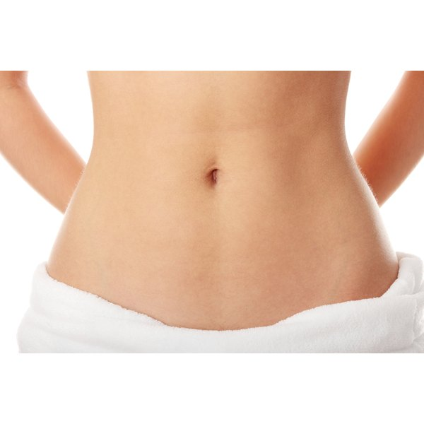 Most women will have a difficult time getting a flat stomach and maintaining it.