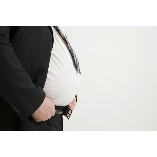 Belly fat can have serious health risks