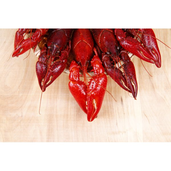 A plate of crawfish.
