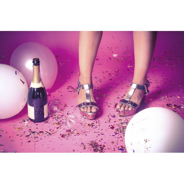 "A ""Legally Blonde"" party must feature sparkling wine and plenty of pink."