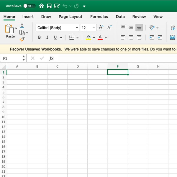 Screenshot of selecting cell in Excel.