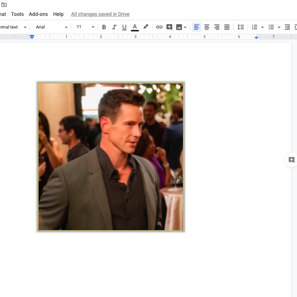 Photo pasted into Google doc.