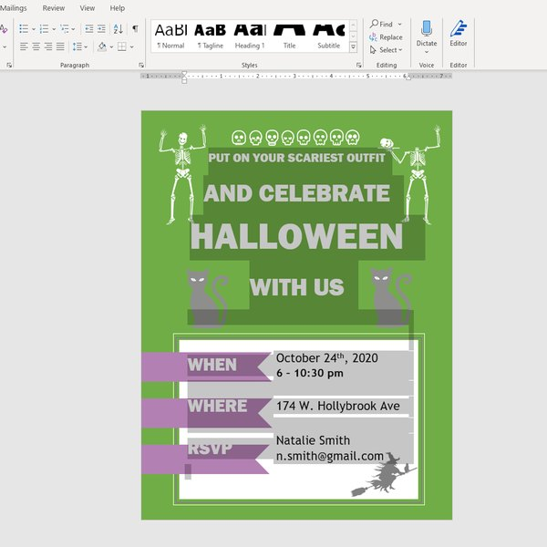 Copying text and images to Clipboard in MS Word.