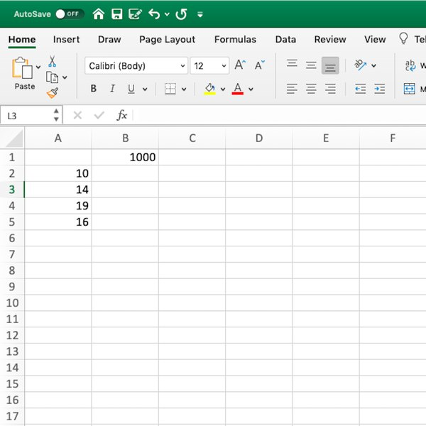 Screenshot of Excel spreadsheet.