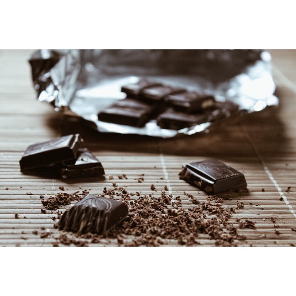 Indulge in a little dark chocolate to give your skin a boost.