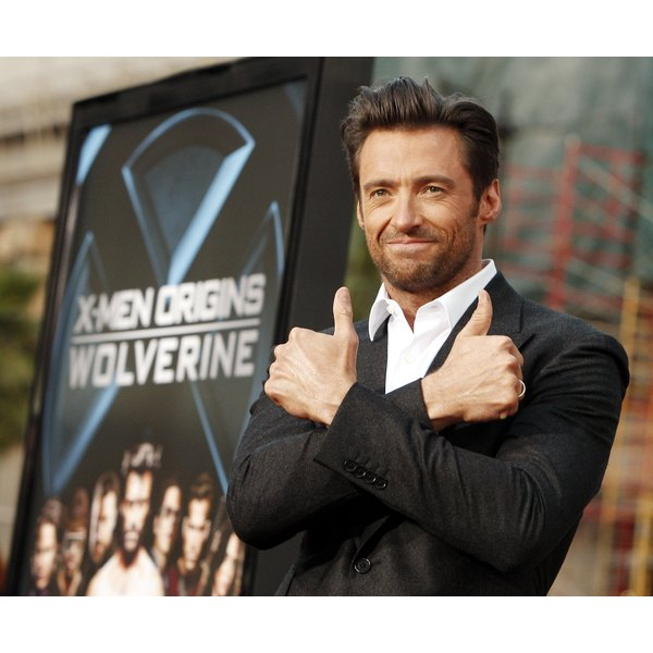 Shirtless beach selfies are a thing of the past for Hugh Jackman.