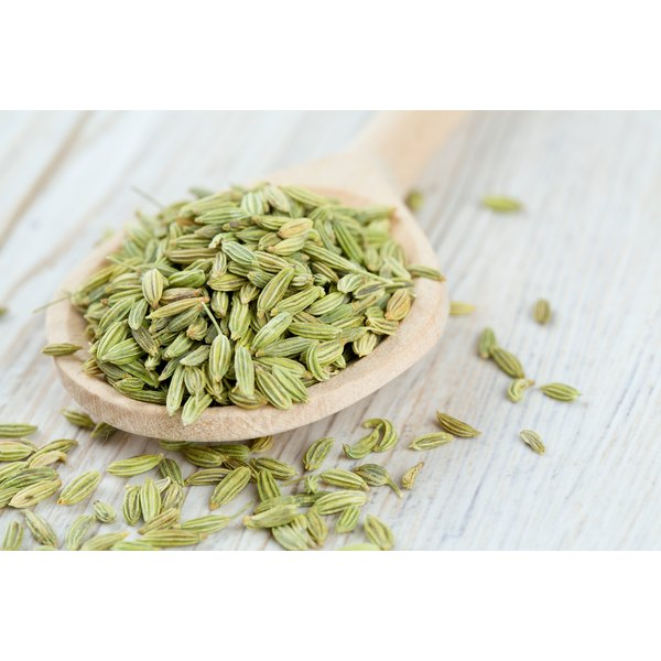 A 3.5-ounce portion of ground fennel seed provides 1,196 milligrams of calcium, more than 100 percent of the daily value.