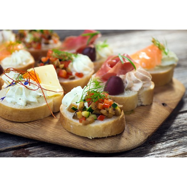 50s & 60s Party Appetizers