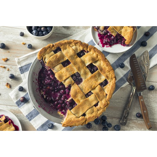 Can I Use Flour Instead of Cornstarch to Make Blueberry Pie Filing?