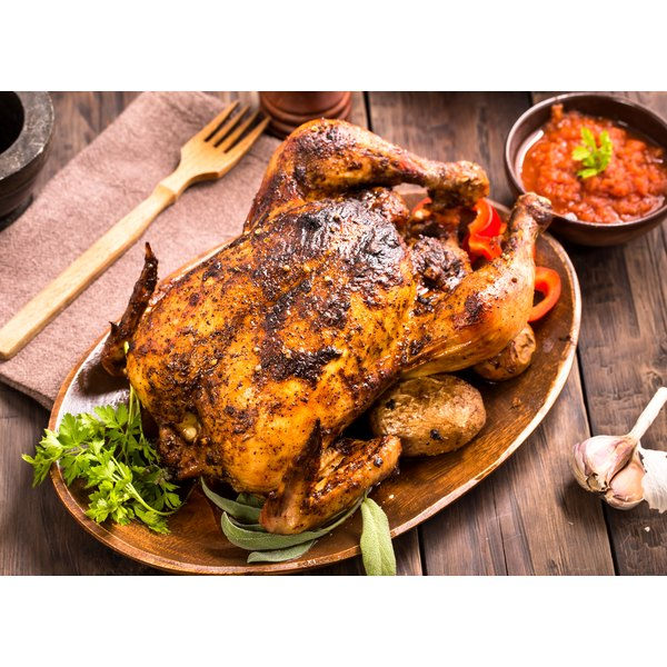 Roast Chicken in Enameled Cast Iron