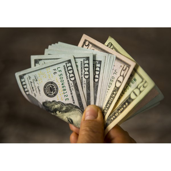 Apa style money