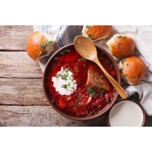 What Do You Serve as a Side Dish for Russian Borscht?