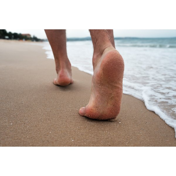 Let your beautiful feet enjoy the beach.